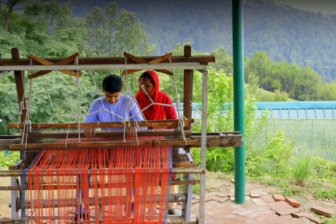 Himachali Weaving Experience at Rakkh Resort Palampur