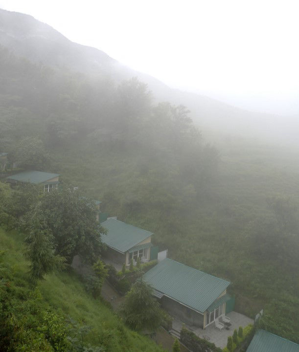 Rakkh Resort Palampur in Monsoon