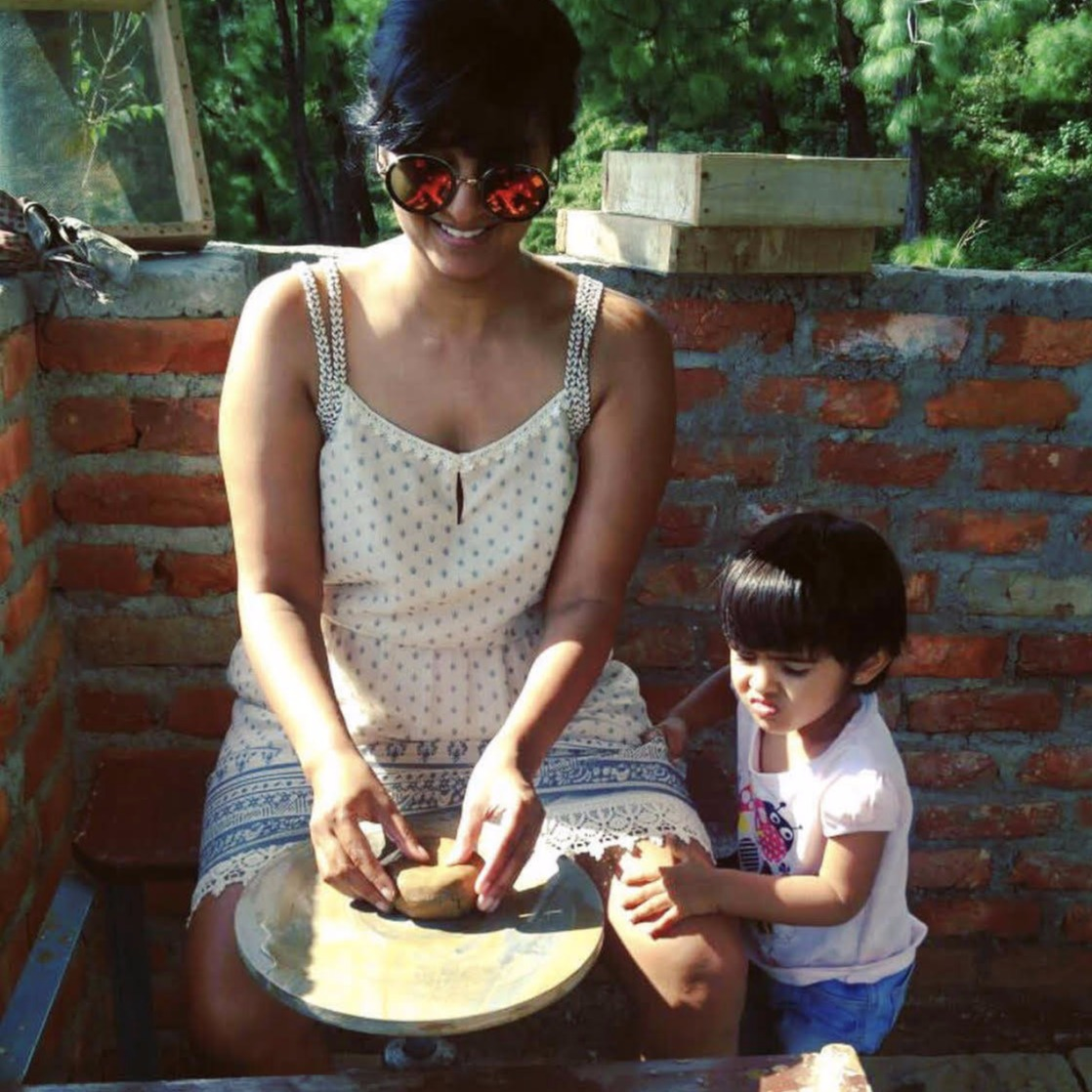 Pottery experience at Rakkh Resort Palampur
